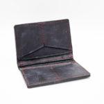 Card Wallet Bifold w Ostrich Skin